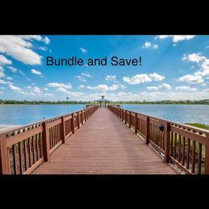 BUNDLE and SAVE!  Discount off a bundle.